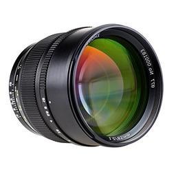 ZHONGYI 85mm F/1.2 Large Aperture Medium Telephoto Prime Spe
