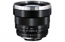Zeiss 85mm f/1.4 Planar T ZF.2 Manual Focus Telephoto Lens