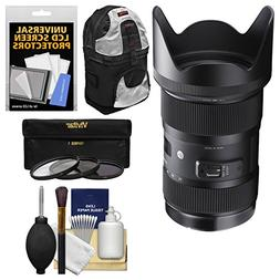 Sigma 18-35mm f/1.8 Art DC HSM Zoom Lens for Canon EOS DSLR