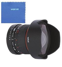 Vivitar 8mm f/3.5 HD Aspherical Fisheye Fixed Lens for Nikon
