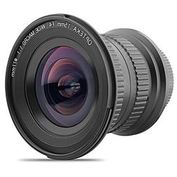 Opteka 15mm f/4 LD UNC AL 1:1 Macro Manual Focus Full Frame