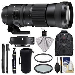 Sigma 150-600mm f/5.0-6.3 Contemporary DG OS HSM Lens & 1.4x