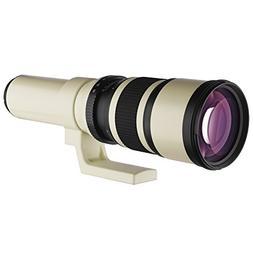 Oshiro 500mm f/6.3 LD UNC AL Super Telephoto Lens for Nikon