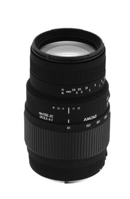 Sigma 70-300mm f/4-5.6 DG Macro Telephoto Zoom Lens for Mino