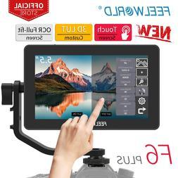 FEELWORLD F6 PLUS 5.5 Inch on <font><b>Camera</b></font> <fo