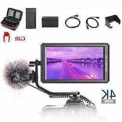 "Feelworld F6 Pro 5.7"" IPS 4K HDMI On Camera Video Monitor fo"