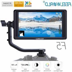 Feelworld F5 5inch 4K HDMI Full HD 1920x1080 On-camera Video
