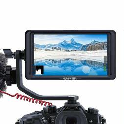 """Feelworld F6S 5"""" IPS 4K HDMI Camera Video Monitor For DSLR M"""