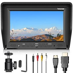 Neewer 7-inch Field Monitor with VGA/AV/HDMI Input IPS Scree