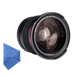 Beschoi 52MM Fisheye Lens 0.35 Macro Fisheye Lens 0.35X Ultr