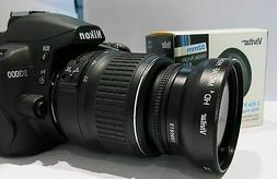 FISHEYE Lens for Nikon  Nikkor 18-55mm f/3.5-5.6G Vr D5100 5