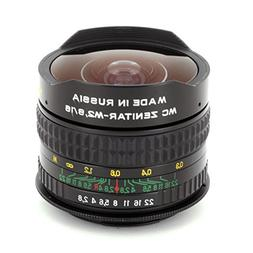 Fisheye Zenitar 2.8/16 MC Lens for Sony Alpha Minolta AF SLR