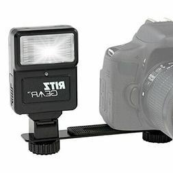 Ritz Gear Digital Camera Flash with Bracket for DSLR, SLR, a