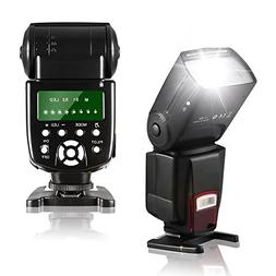 COOCHEER Flash Speedlite,Professional Master/Slave Speed Fla