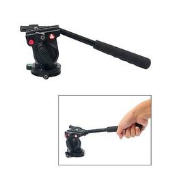 Fluid Head Hydraulic Damping Video Camera Tripod Head For DS