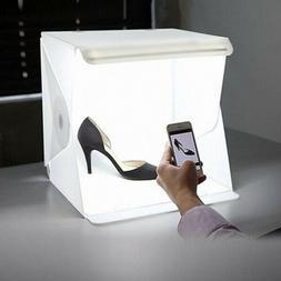 Folding Lightbox Studio LED Photo Shoot Box for Smartphone D