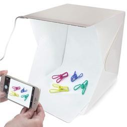Folding Portable Light Studio Photo Shoot Tent Kit w/ LED 9f