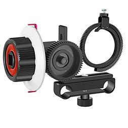 Neewer Follow Focus with Gear Ring Belt for Canon Nikon Sony