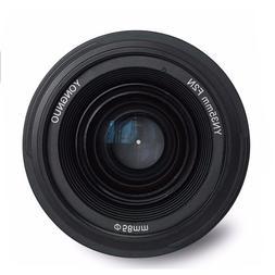 Yongnuo <font><b>35mm</b></font> lens YN35mm F2 lens Wide-an