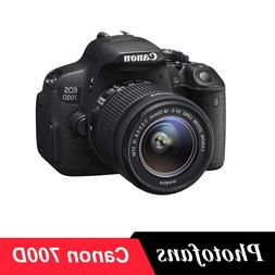 <font><b>Canon</b></font> 700D / Rebel T5i DSLR Digital <fon
