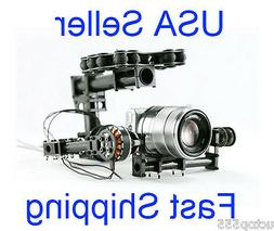 FPV Brushless Camera Gimbal for Mini SLR Sony 5N GH2 LX7 or