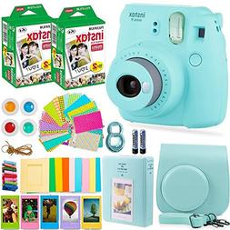 Fujifilm Instax Mini 9 Instant Camera + Fuji Instant Film  +