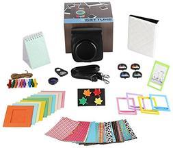 Fujifilm Instax Mini 90 Camera Accessories Bundle, 11 PC Kit