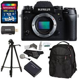 Fujifilm X-T1 16 MP Mirrorless Digital Camera + Ritz Gear SL