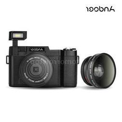 Andoer FULL HD 1080P 24MP 4X ZOOM Digital SLR Camera DV Vide