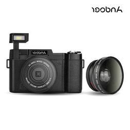 Andoer FULL HD 1080P 24MP Digital SLR Camera DV Video Camcor