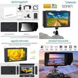 FEELWORLD FW450 4.5 Inch DSLR On Camera Field Monitor 4K HDM