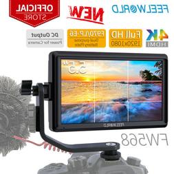 "FEELWORLD FW568 5.5"" IPS Camera DSLR Field Video Monitor wit"