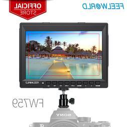 FEELWORLD FW759 7 inch DSLR Camera Field Monitor LCD IPS HD