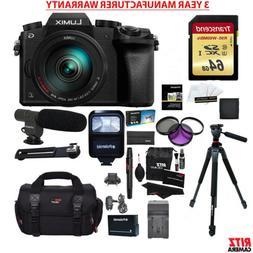 Panasonic G7HK 4K Digital Camera 14-140mm Lens + 64GB + MANU