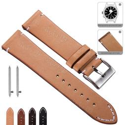 Genuine Leather Watch Band 18 20 22mm Wrist Strap For Fossil