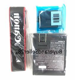 Genuine OEM Canon Rebel Battery, Charger, Strap LP-E10, LC-E
