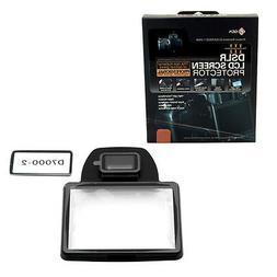 GGS III DSLR LCD Screen Protector for Nikon D7000 Camera, Br