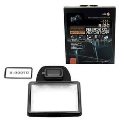GGS III DSLR LCD Screen Protector for Nikon D7000 Camera, Br