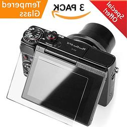 Glass Screen Protector Compatible Canon G7X Mark II G9X G9XI
