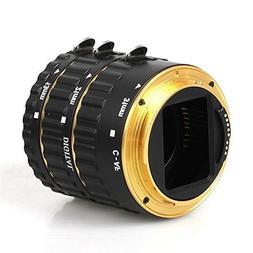 FODSLR Gold Full Autofocus Macro Extension Tube for Canon Ds