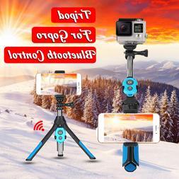 For GoPro Camera bluetooth Selfie Stick Tripod Monopod Remot