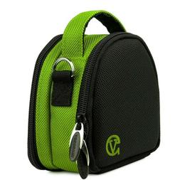 Green Small SLR Compact Camera Shoulder Bag Case for Sony HX