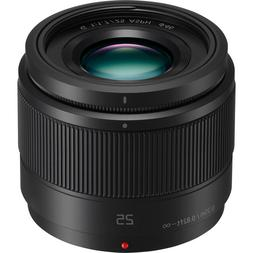 Panasonic H-H025K Lumix G 25mm f/1.7 ASPH. Lens