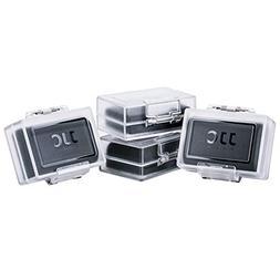 4-Pack JJC Compatible Camera Battery Case for Canon LP-E6N L