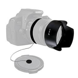 LS Photography HB-32 Dedicated Petal Lens Hood and Cap Keepe
