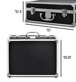 Heavy Duty Hard Case for DSLR Camera Camcorder Equipment Bla
