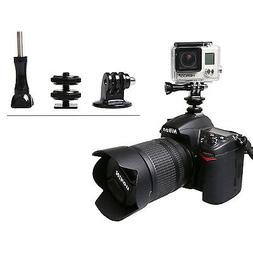 Hot Shoe Adapter Mount for Mounting GoPro Hero to DSLR Canon
