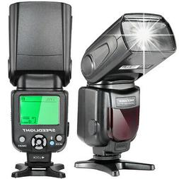 i-TTL LCD Display Speedlite Flash with Protecting Bag for Ni