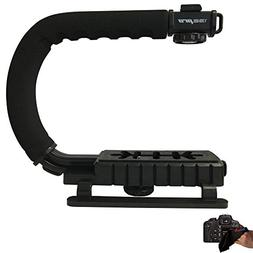 I3ePro SuperGrip Professional Camera / Camcorder Action Stab