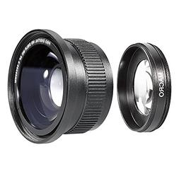 Neewer® 52MM 0.35X High Definition II Wide Angle Macro Fish
